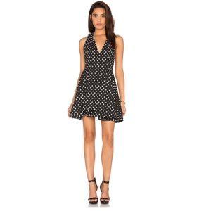 🆕 Alice + Olivia Tanner Dress Black & Cream Dot